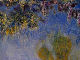 Claude Monet Wisteria 2 painting