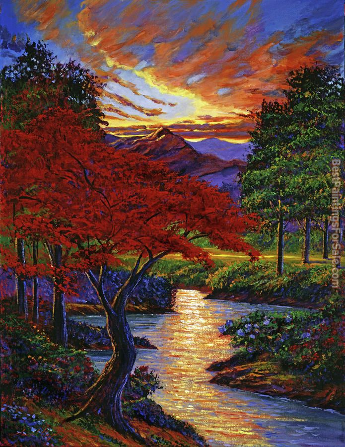 David Lloyd Glover Red Maple