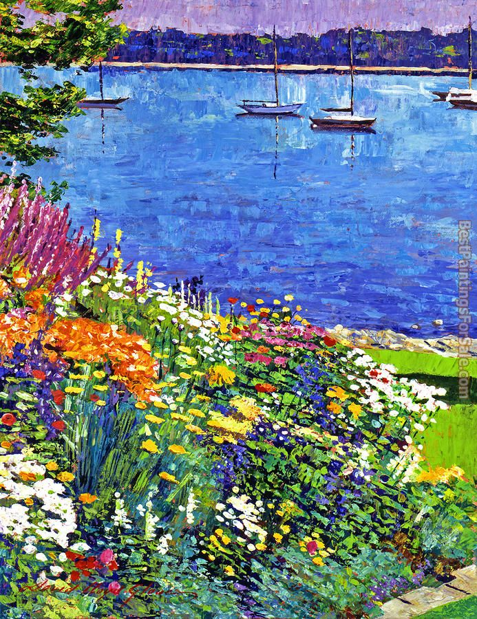 David Lloyd Glover Sailboat Bay Garden
