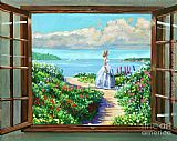 David Lloyd Glover Cape Cod Beauty painting