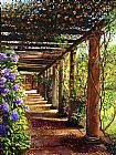 David Lloyd Glover Pergola Walkway painting