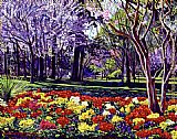 David Lloyd Glover Sunday In the Park painting