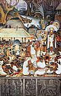 Diego Rivera The Zapotec Civilization painting