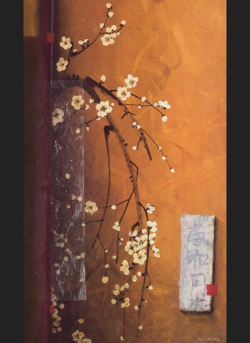 Don Li-Leger Oriental Blossoms III