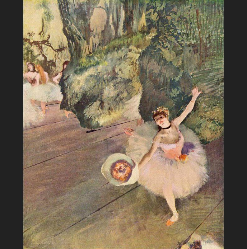 Edgar Degas Star of the Ballet