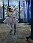 Edgar Degas Dancer At The Photographer's Studio painting