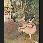 Ballet paintings - Star of the Ballet by Edgar Degas