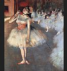 Ballet paintings - The Star by Edgar Degas