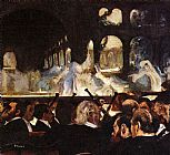 Ballet paintings - The ballet scene by Edgar Degas