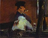 Edouard Manet In The Bar Le Bouchon painting