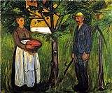 Edvard Munch Fertility II painting