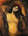 Edvard Munch Madonna painting
