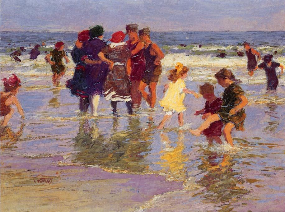 Edward Henry Potthast A July Day