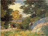 Edward Henry Potthast Bridal Path painting