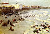 Edward Henry Potthast Coney Island painting