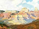 Edward Henry Potthast Grand Canyon painting