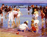 Edward Henry Potthast Happy Days painting