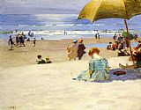 Edward Henry Potthast Hourtide painting