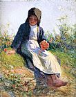 Edward Henry Potthast Sunshine painting