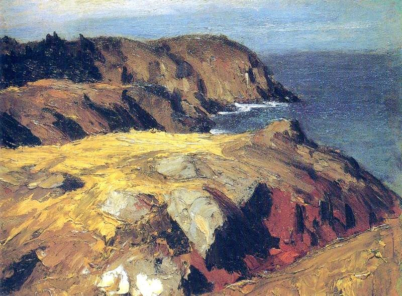 Edward Hopper Blackhead Monhegan 1919