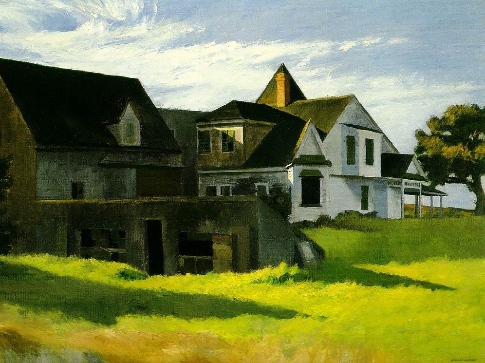 Edward Hopper Cape Cod Afternoon