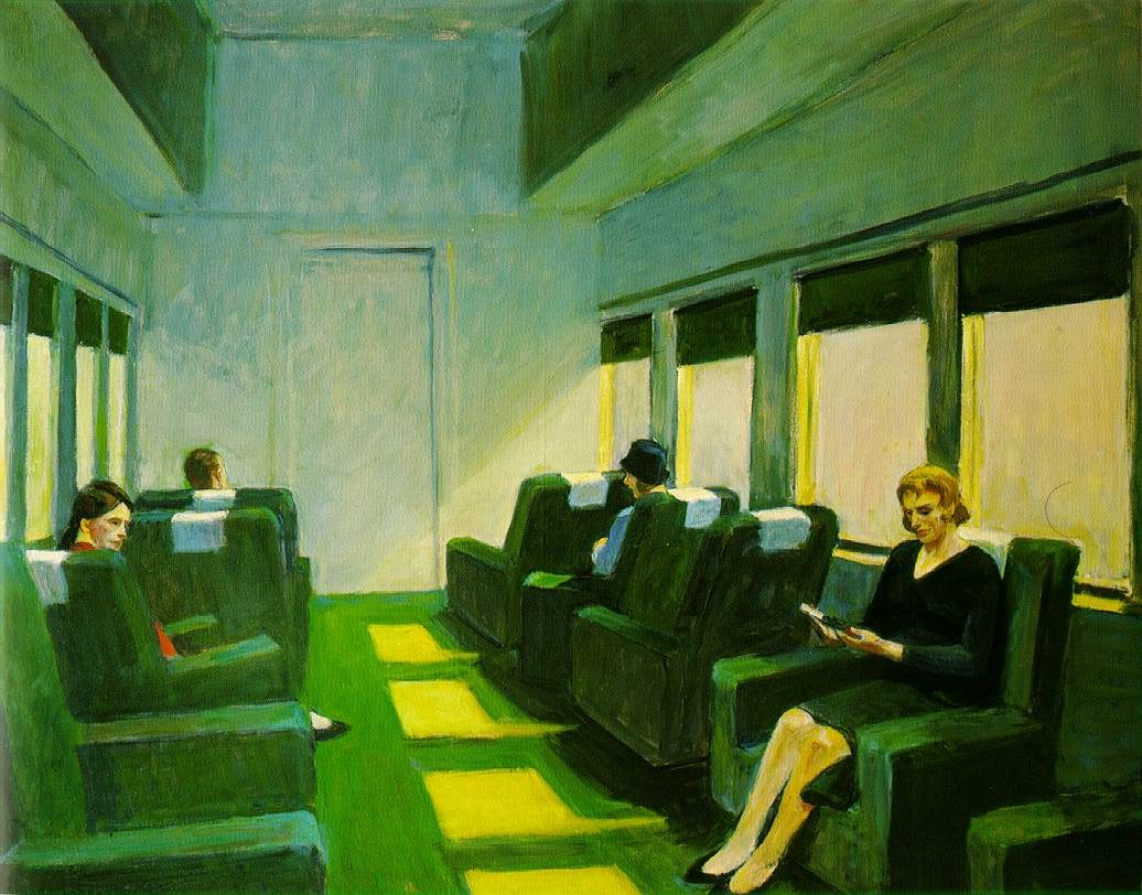 Edward Hopper Chair Car