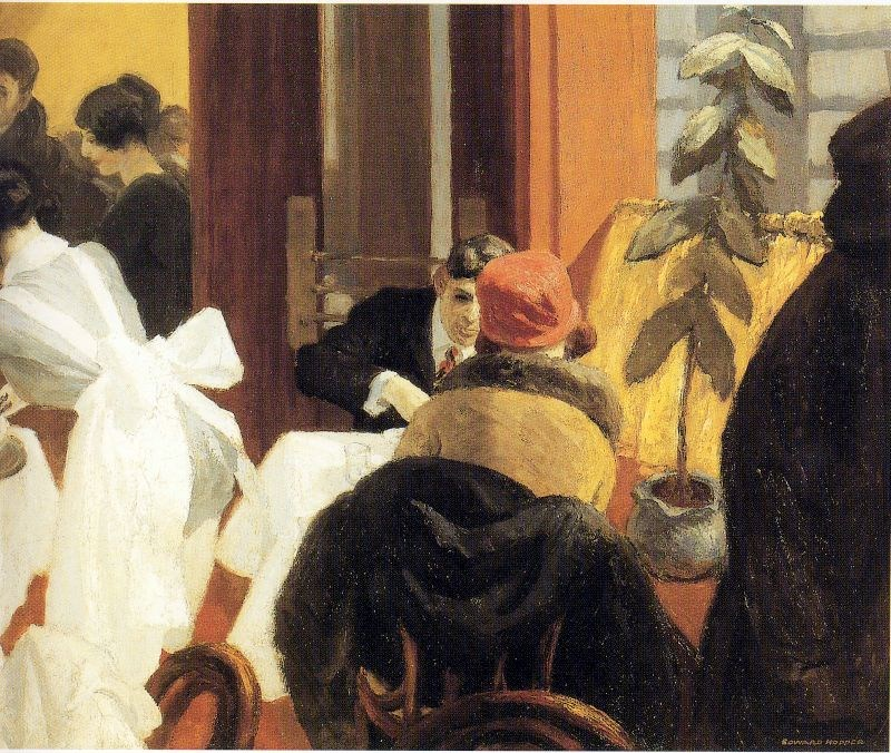 Edward Hopper New York Restaurant
