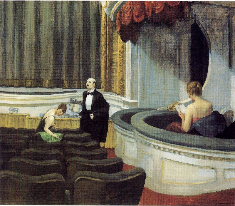 Edward Hopper Two on the Aisle