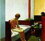 Edward Hopper Hotel Room painting