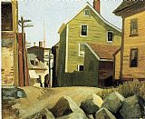 Edward Hopper Italian Quarter Gloucester painting