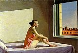 Edward Hopper Morning Sun painting