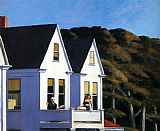 Edward Hopper Second Story Sunlight painting
