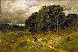 Edward Mitchell Bannister Approaching Storm painting