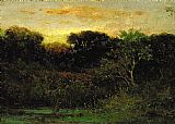 Edward Mitchell Bannister Sunrise painting