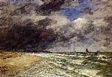 Eugene Boudin A Squall from Northwest painting