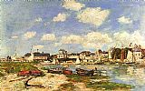 Eugene Boudin Trouville painting