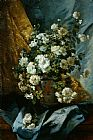 Eugene Henri Cauchois Still Life of Chrysanthemums painting