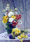 Eugene Henri Cauchois Still Life of Flowers painting
