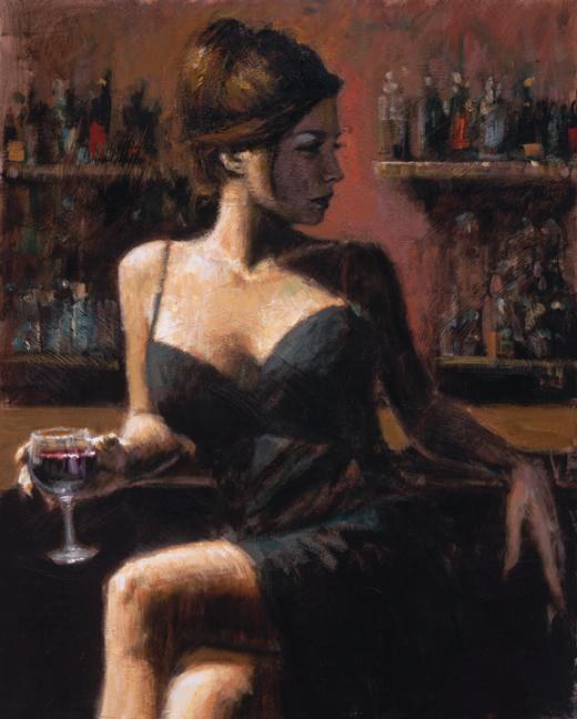 fabian perez analie painting best paintings for sale. Black Bedroom Furniture Sets. Home Design Ideas