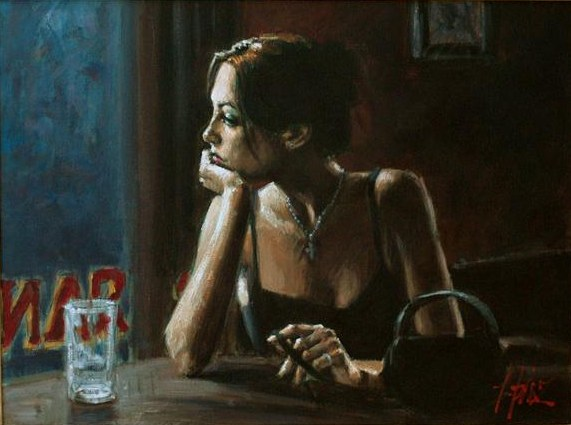 Fabian Perez EL FEDERAL CAFE IV