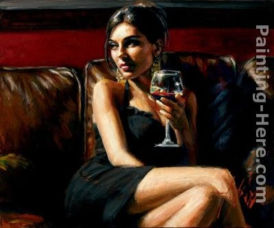 Fabian Perez Red on Red II