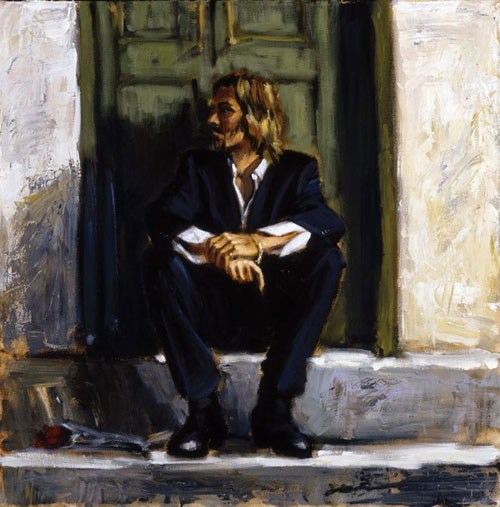 Fabian Perez Waiting for the romance to come