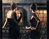 Fabian Perez Cenientas of the Night II painting