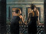 Fabian Perez Cenisientas of the Night I painting
