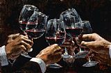 Still Life paintings - FOR A BETTER LIFE VI by Fabian Perez