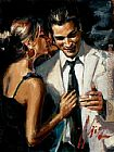 Fabian Perez the proposal II painting