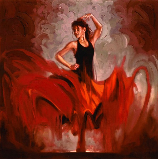 Flamenco Dancer Crescendo I