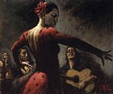 Flamenco Dancer sttabladoflmcoii painting