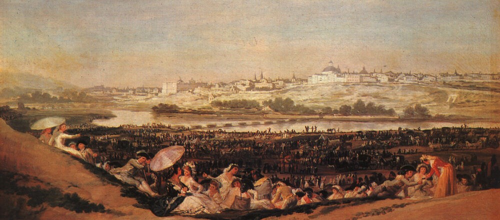 Francisco de Goya Festival at the Meadow of San Isadore