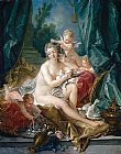 Francois Boucher The Toilet of Venus painting